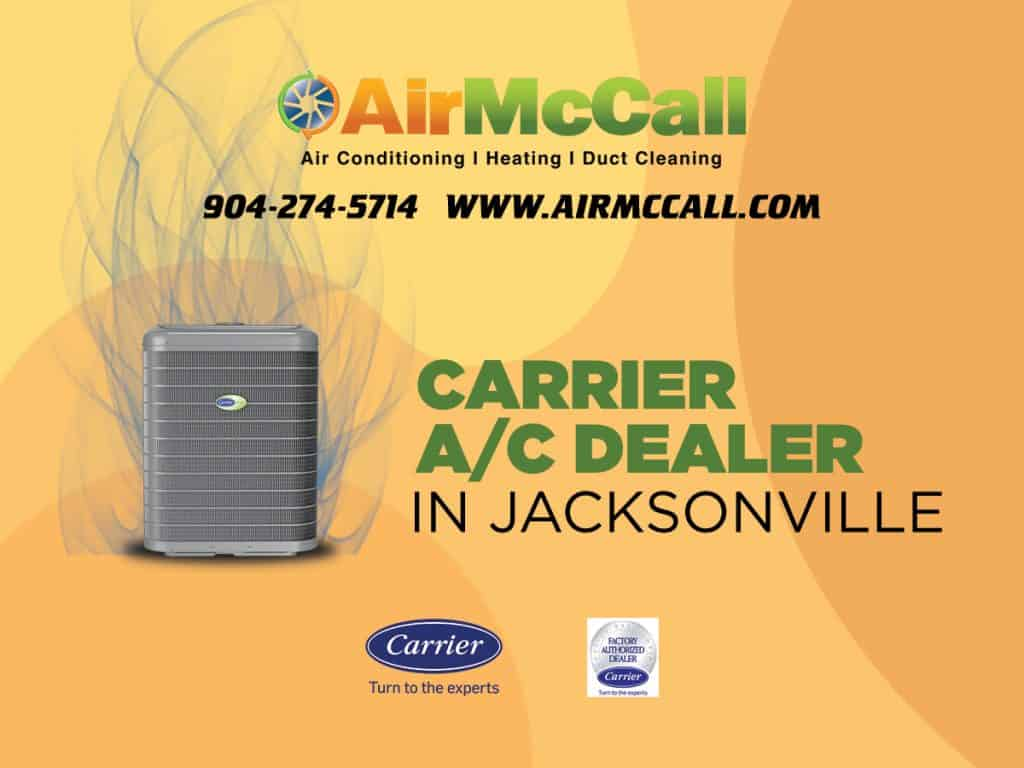 Carrier A/C Dealer in Jacksonville, FL